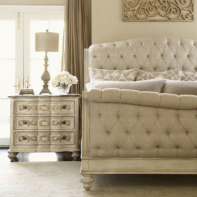 Jessica Mcclintock Dining Room Furniture: Jessica McClintock The Boutique Sleigh Bedroom Set (White
