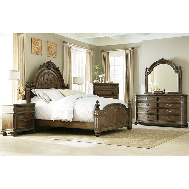 Merveilleux Jessica McClintock The Boutique Poster Bedroom Set (Baroque)