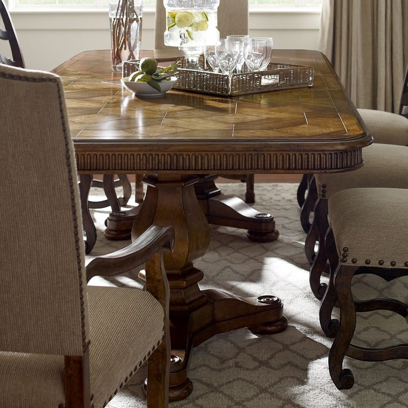 Collection One Harvest Dining Table (Chestnut) ART