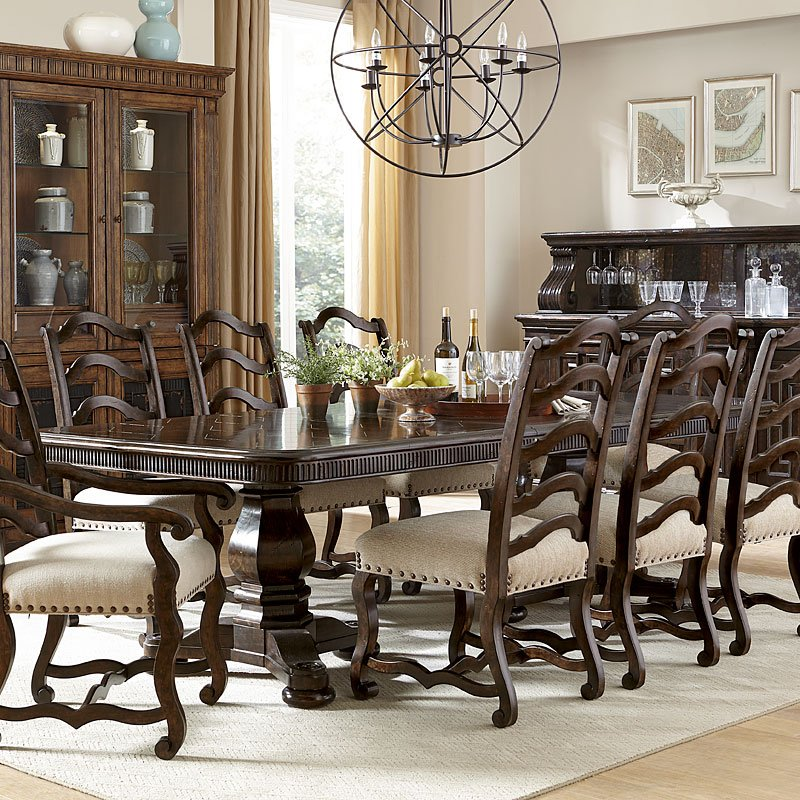 Collection One Harvest Dining Table (Tortoise) ART