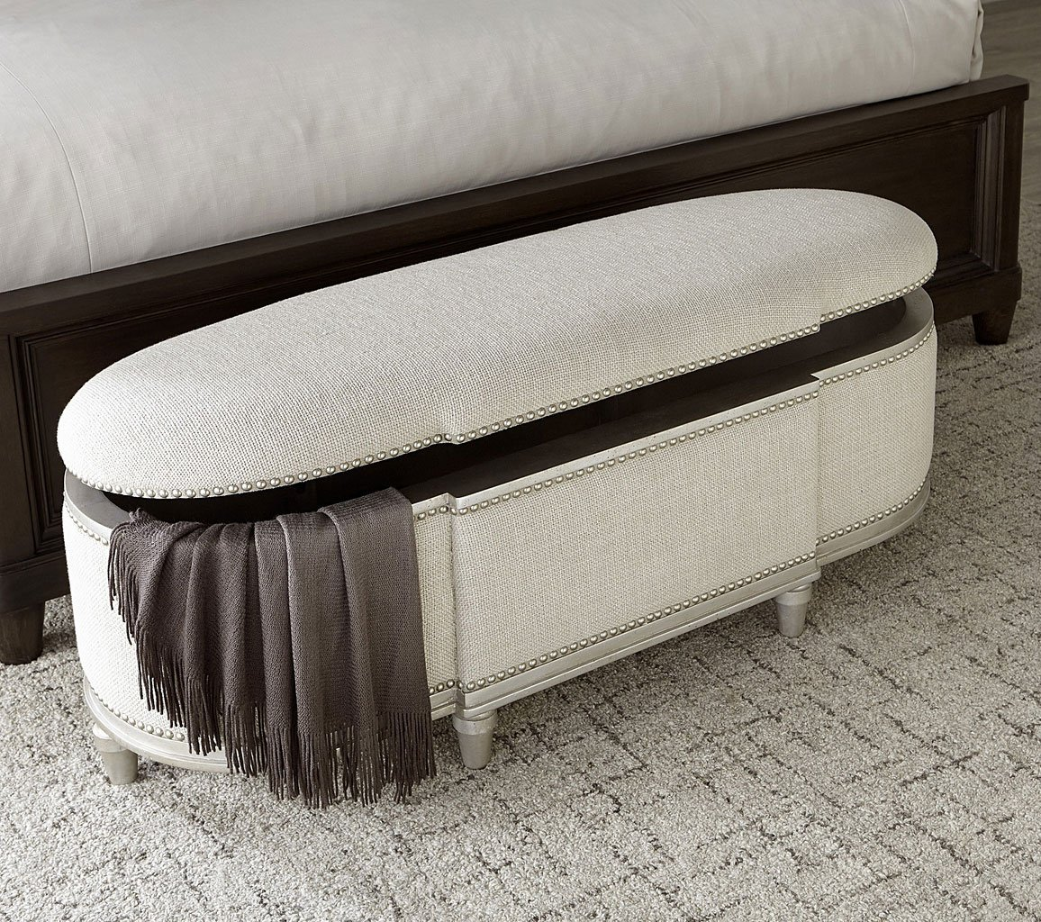 Morrissey Rhodes Storage Bench (Bezel) By ART Furniture