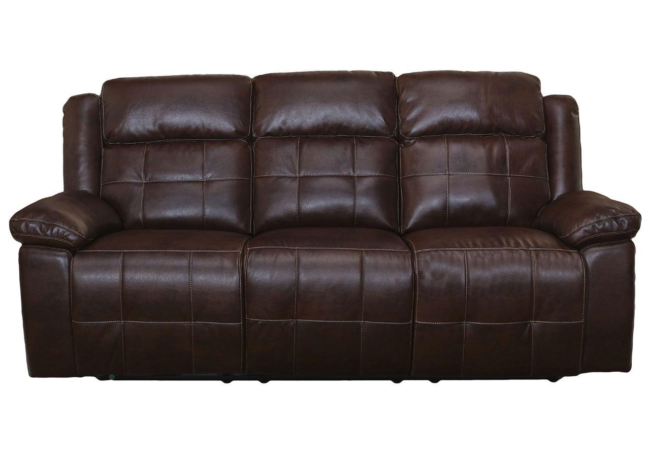 Clayton Power Reclining Sofa W/ Power Headrest