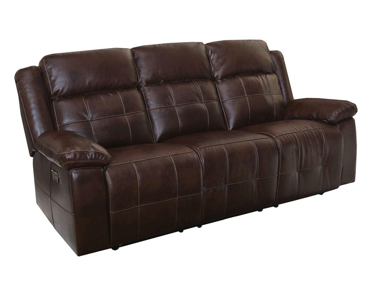 Clayton Reclining Sofa W Headrest