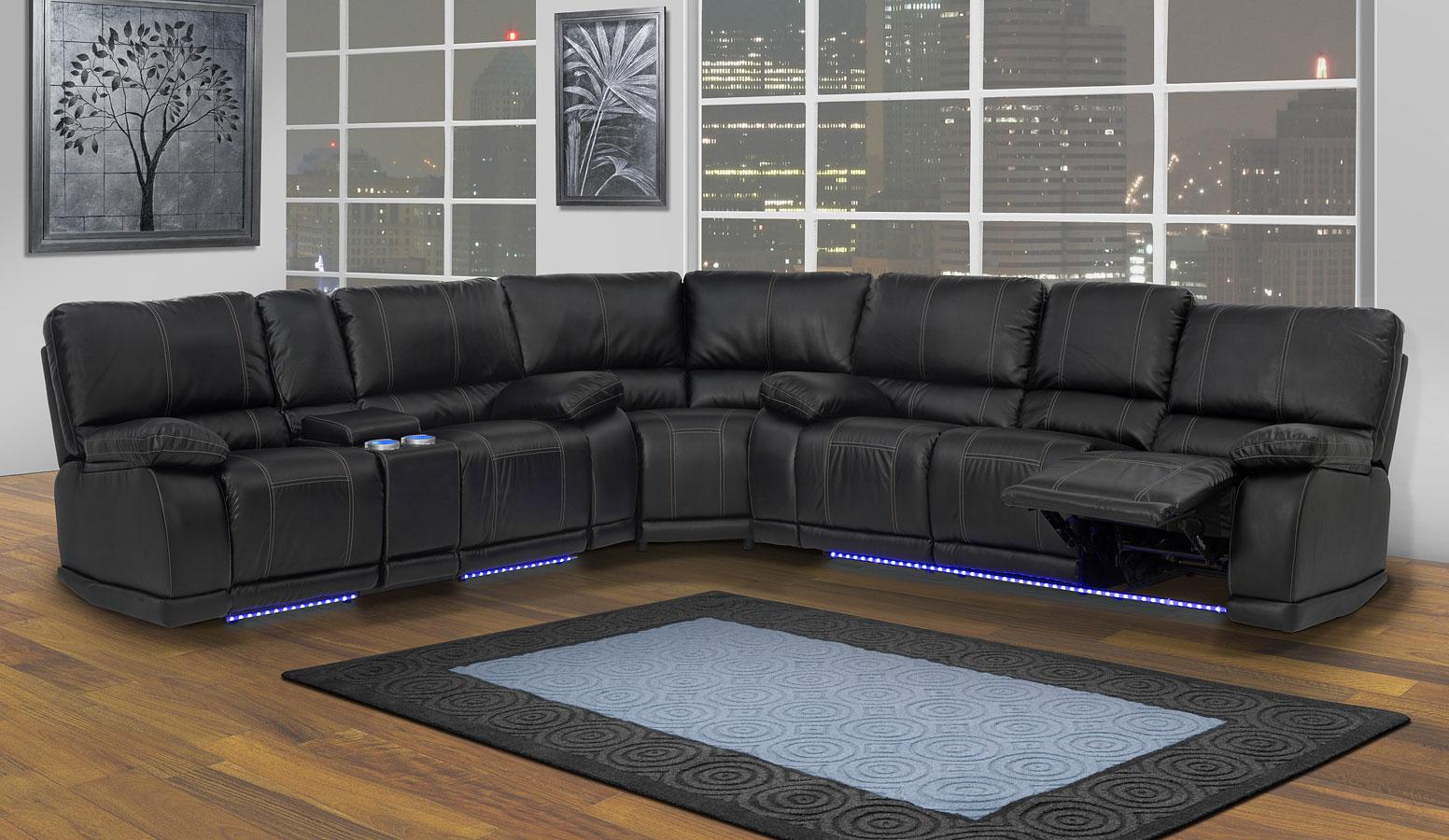 Electra Reclining Sectional Set New Classic Furniture Furniture Cart