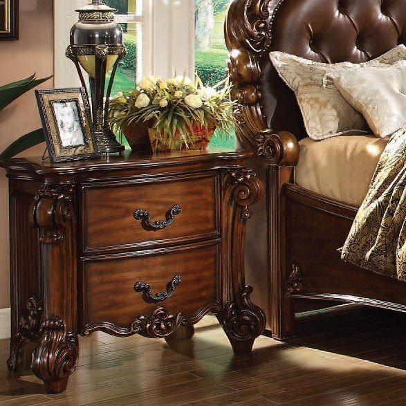 Vendome Panel Bedroom Set Cherry Acme Furniture