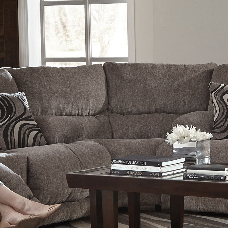 Jules Reclining Sectional Pewter Catnapper Furniture Cart
