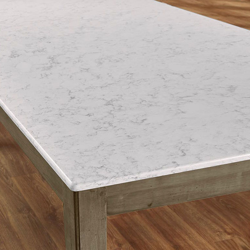 Simply Dining Quartz Top Kitchen Table Grey Vaughan Bassett