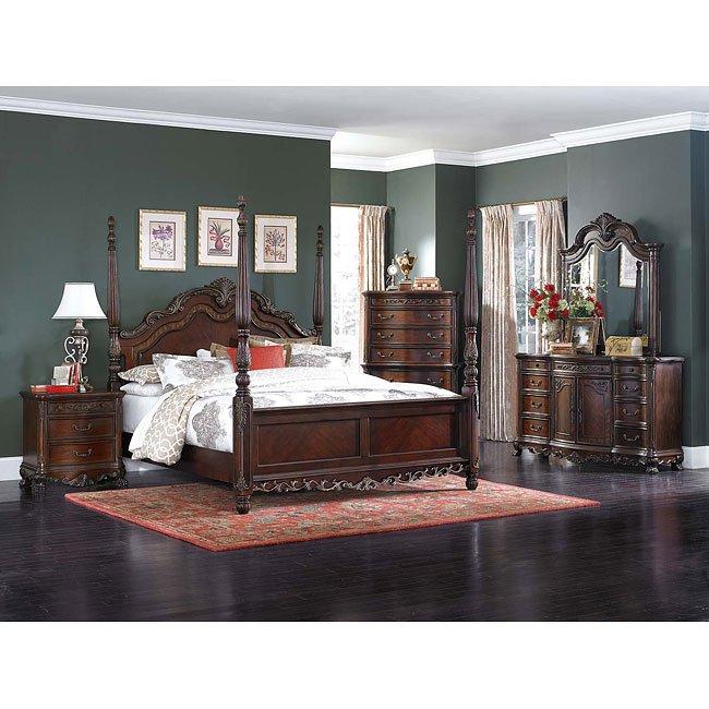 Ashley Furniture In Woodbridge Nj: Deryn Park Poster Bedroom Set Homelegance