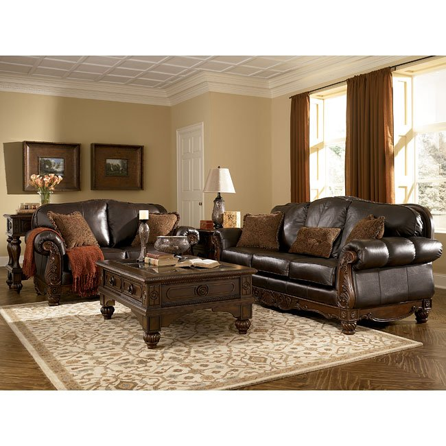 Northshore Collection: Dark Brown Living Room Set Millennium, 5