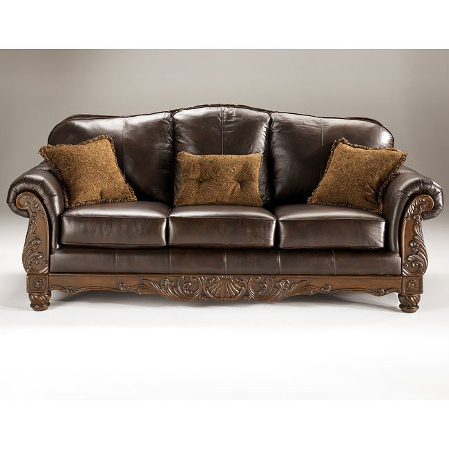Dark Brown Living Room Set Millennium, 5