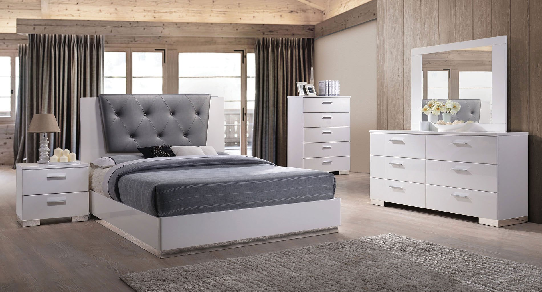 Lorimar II Low Profile Bedroom Set
