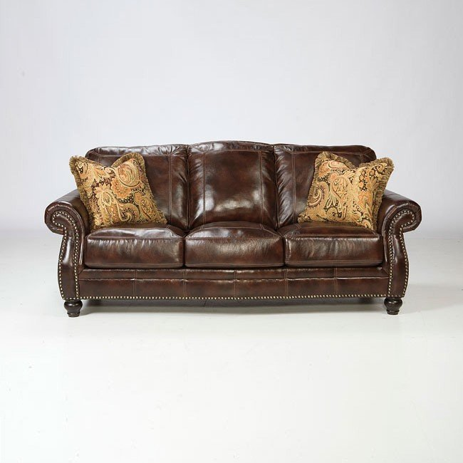 Graydon Park Dark Saddle Sofa