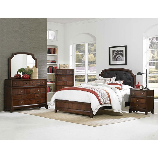Carrie Ann Panel Bedroom Set Homelegance