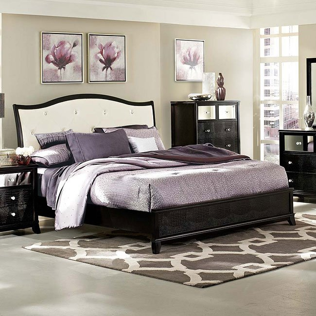 Ashley Furniture Kenosha: Jacqueline Sleigh Bedroom Set Homelegance, 1 Reviews
