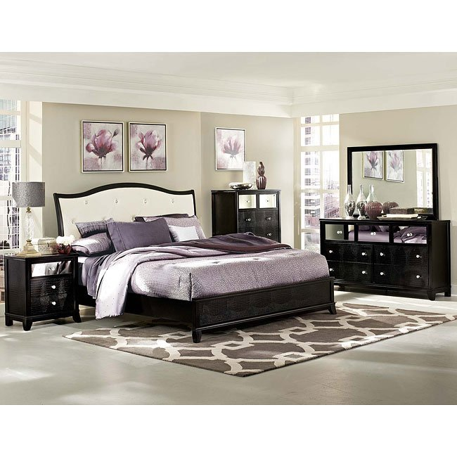 Jacqueline Sleigh Bedroom Set