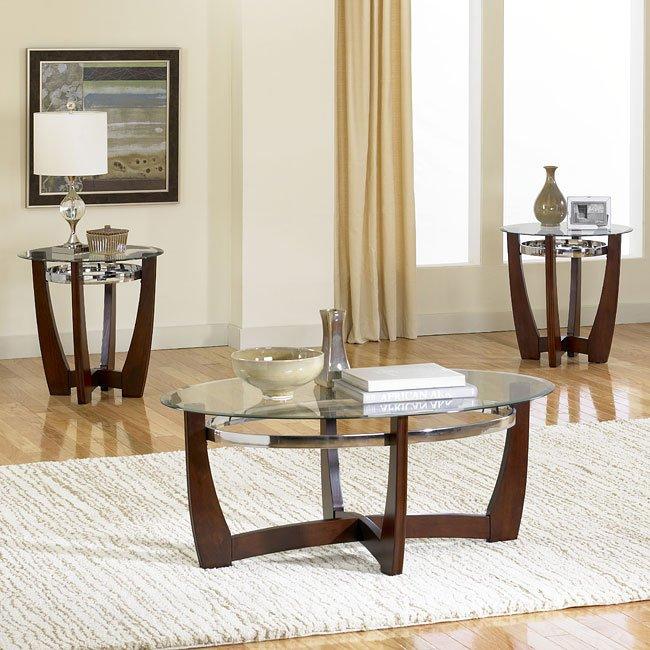Apollo 3-Piece Occasional Table Set Standard Furniture