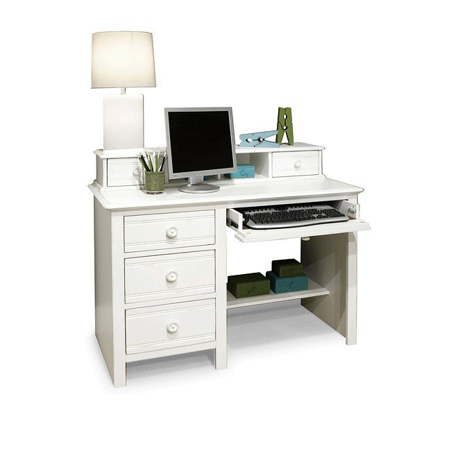 Cottage Grove Computer Desk w/ Hutch