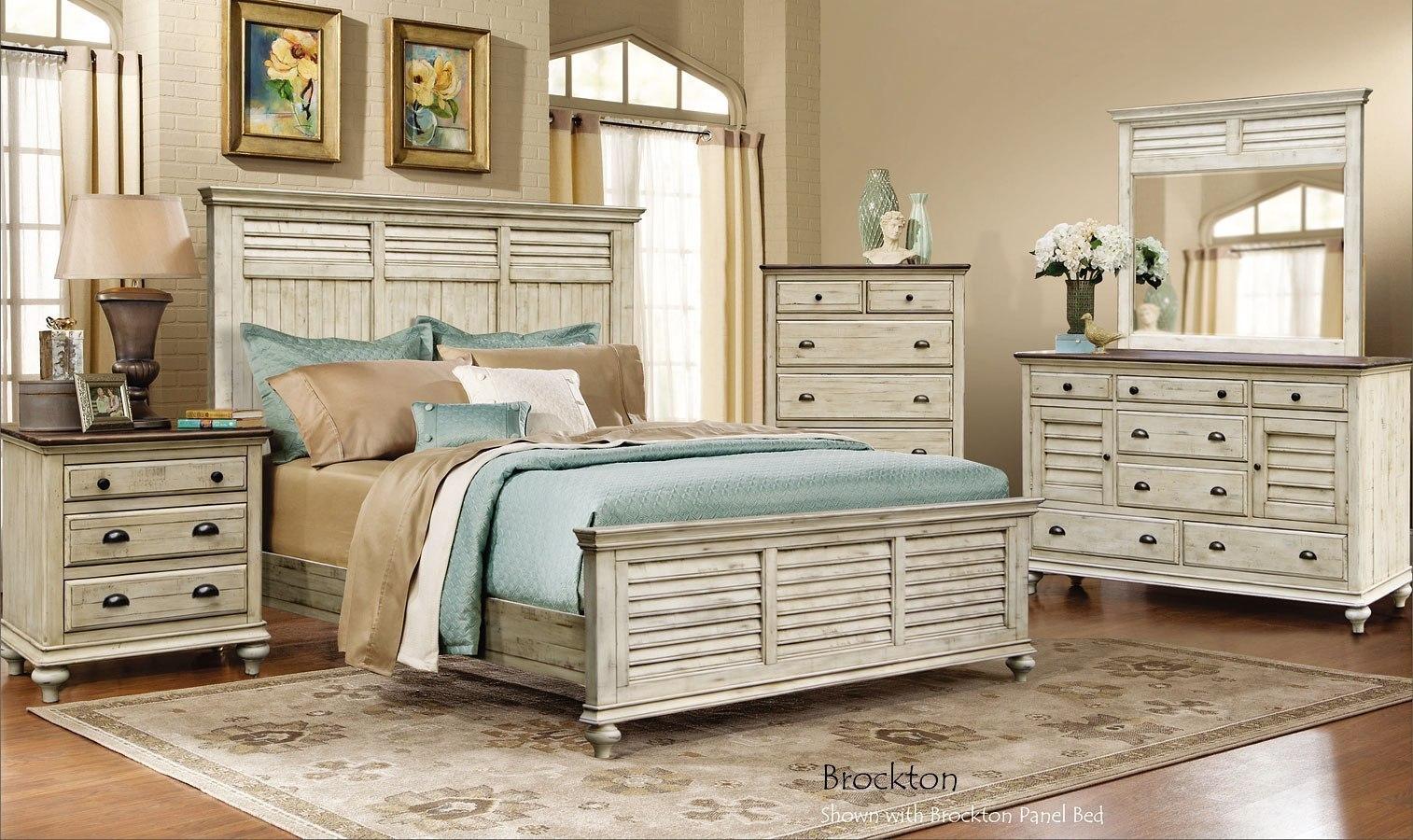 Brockton Panel Bedroom Set Cottage Creek Furniture | Furniture Cart