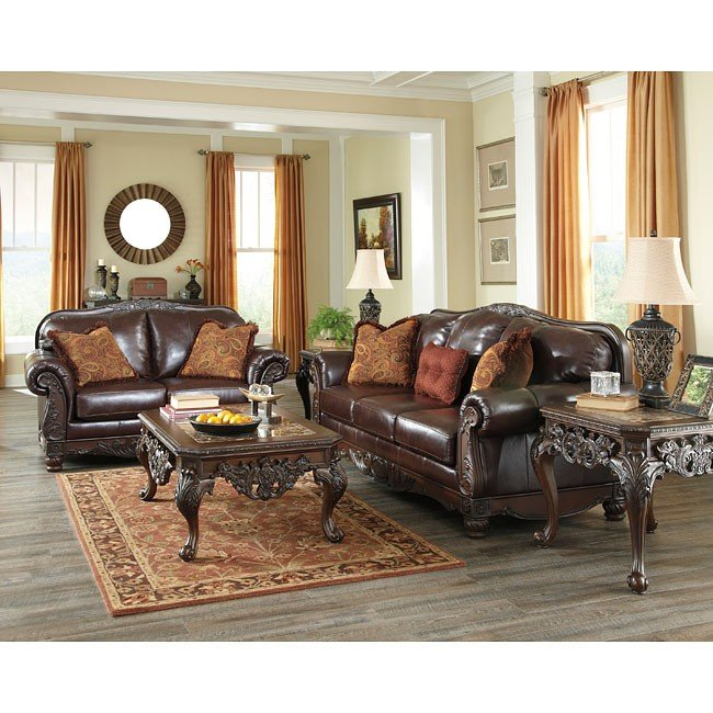 North Shore Plus Coffee Living Room Set Millennium, 1