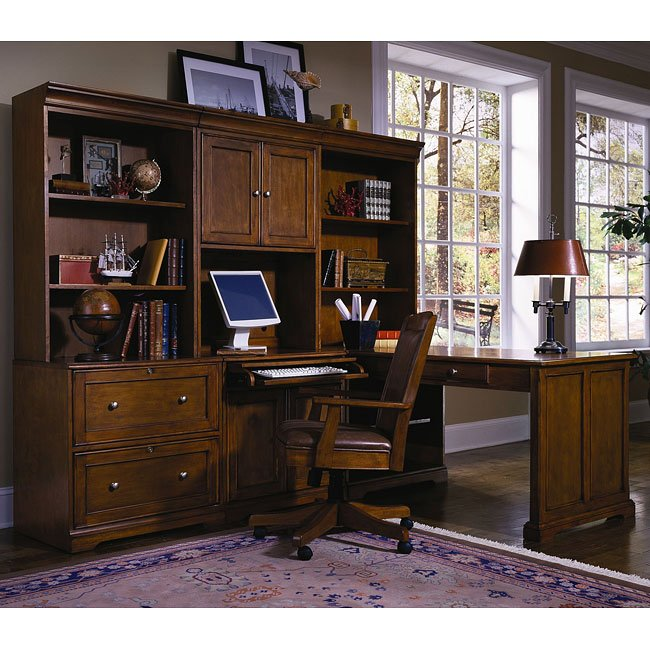 Grandview 7 Piece Home Office Suite