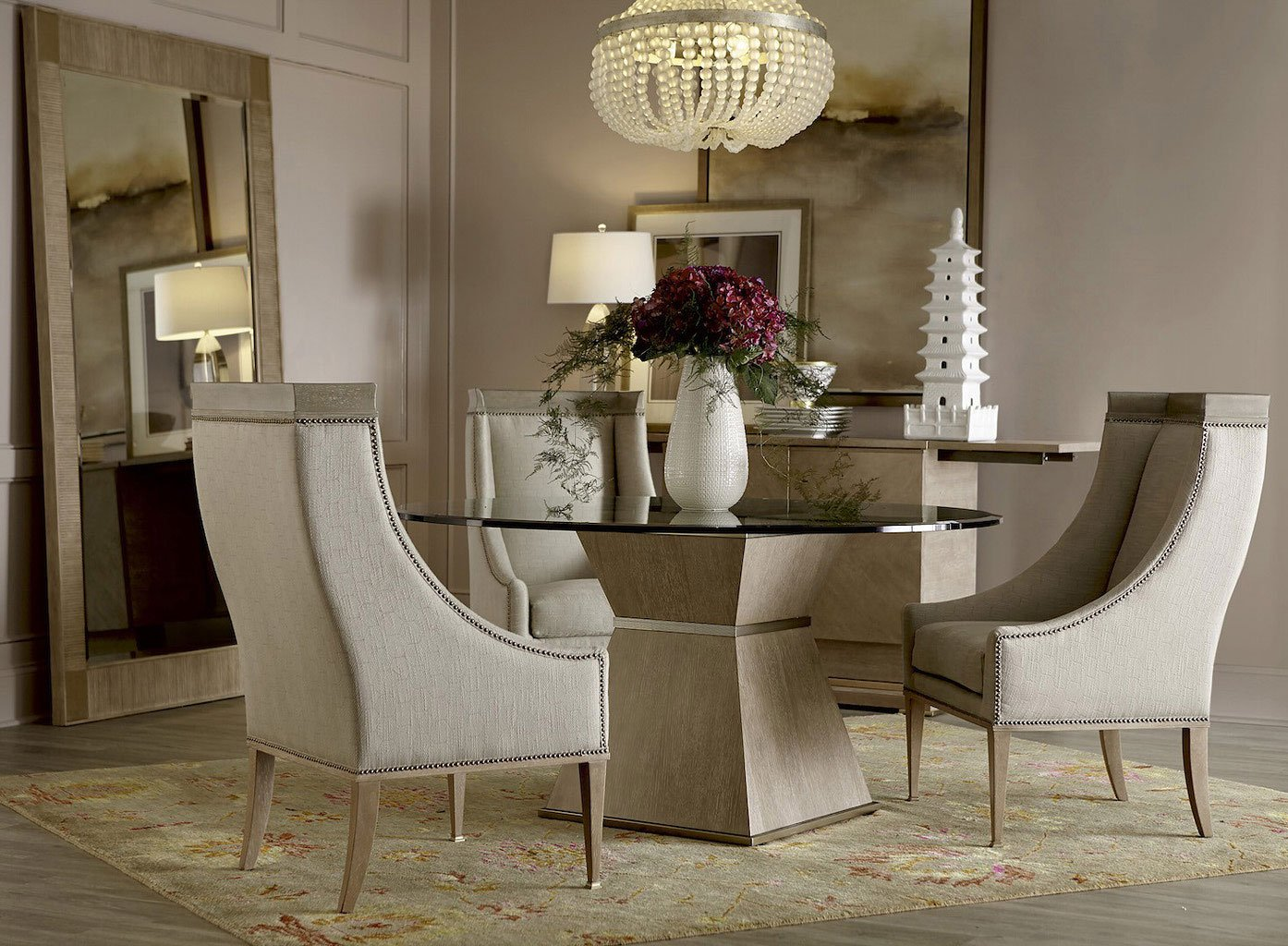 Ordinaire Cityscapes Hancock 60 Inch Round Dining Room Set