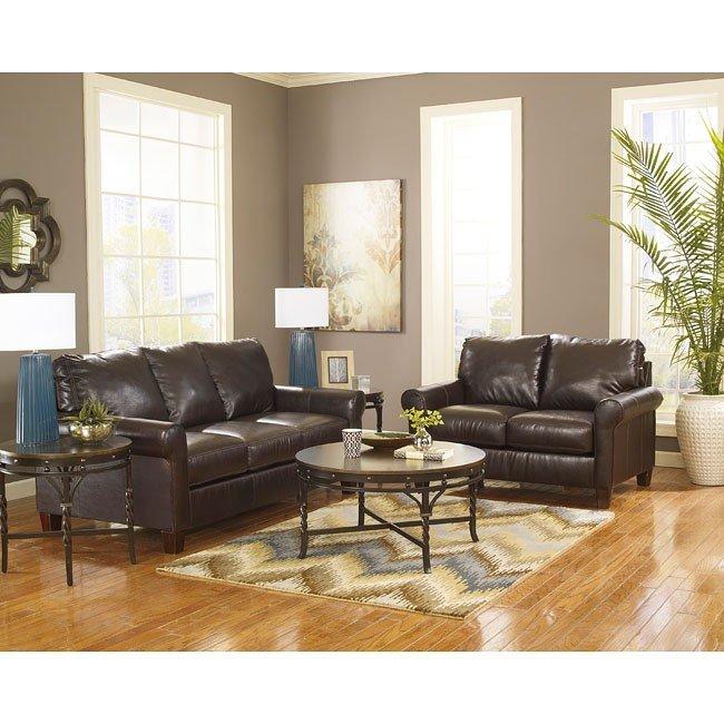 Nastas DuraBlend Bark Living Room Set