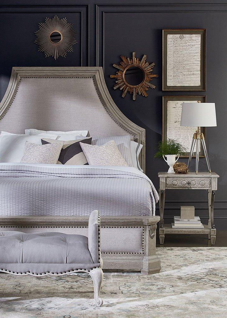 Arch Salvage Bryce Panel Bedroom Set (Mist)