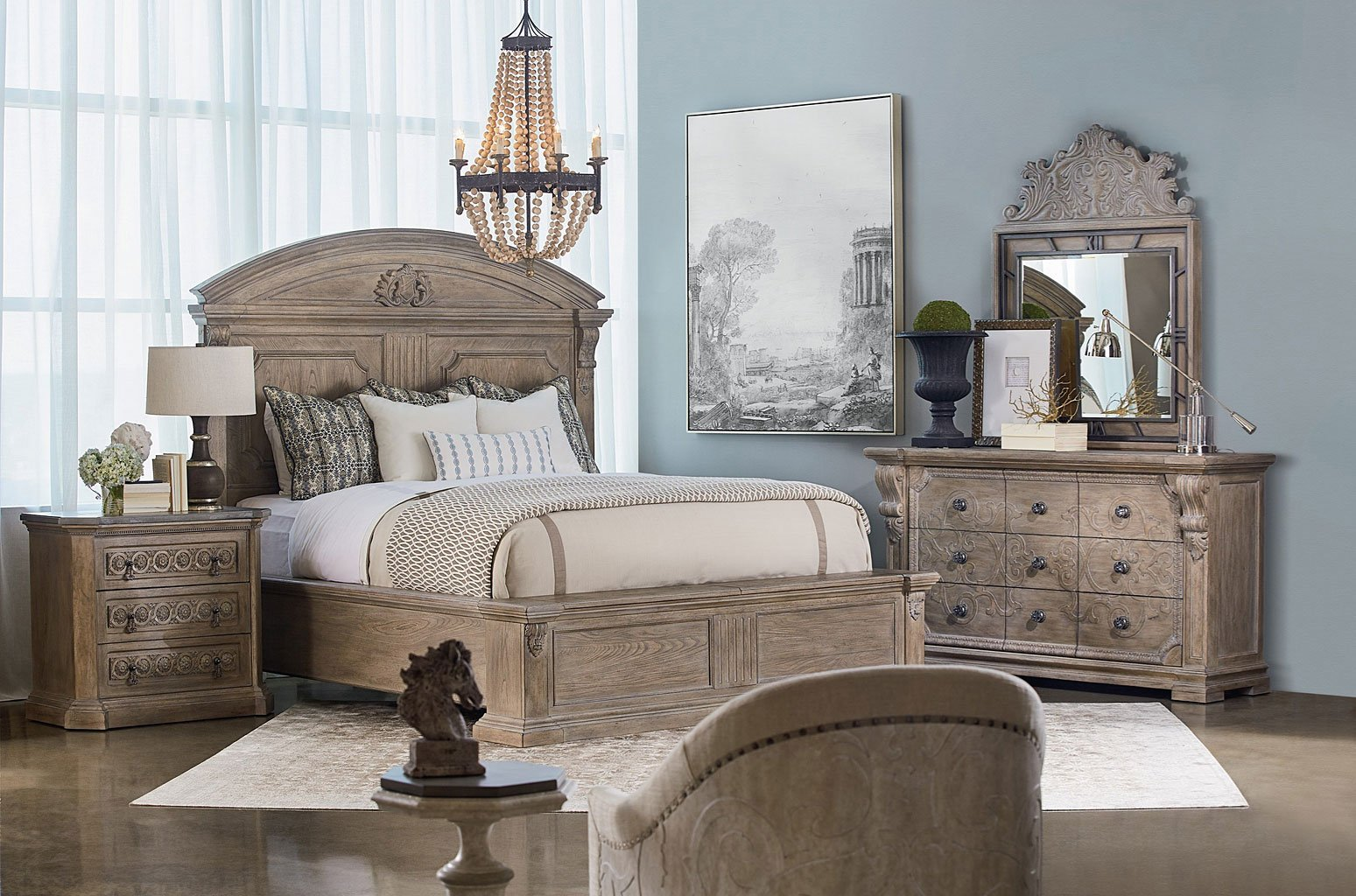 Arch Salvage Chambers Storage Bedroom Set Parch Art
