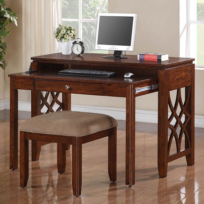 Woodmont Desk with Stool