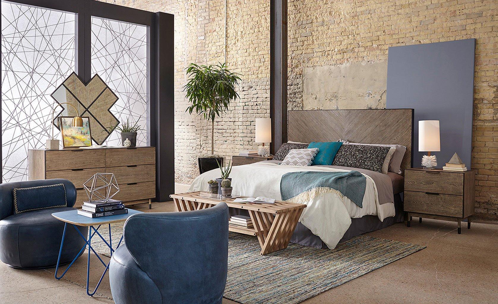 Epicenters Austin Cedar Park Headboard Bedroom Set ART Furniture ...