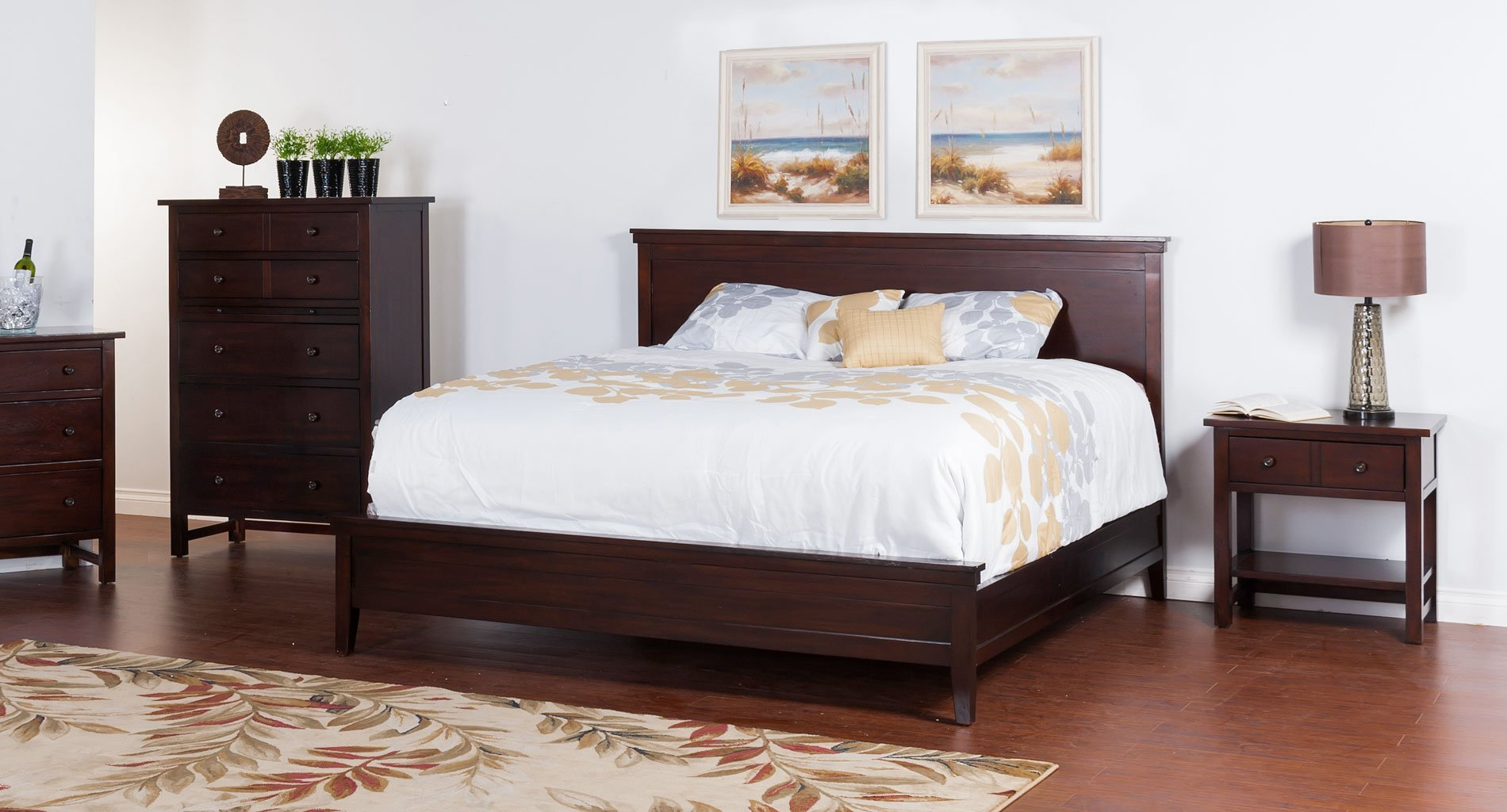 Napa panel bedroom set sunny designs furniture cart for Sunny designs bedroom furniture