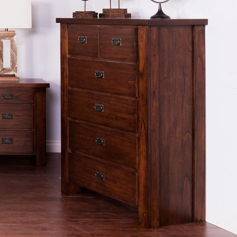 Kodiak chest sunny designs furniture cart for Sunny designs bedroom furniture