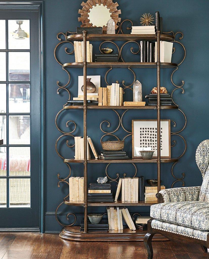 Continental Bookcase Etagere (Melange)