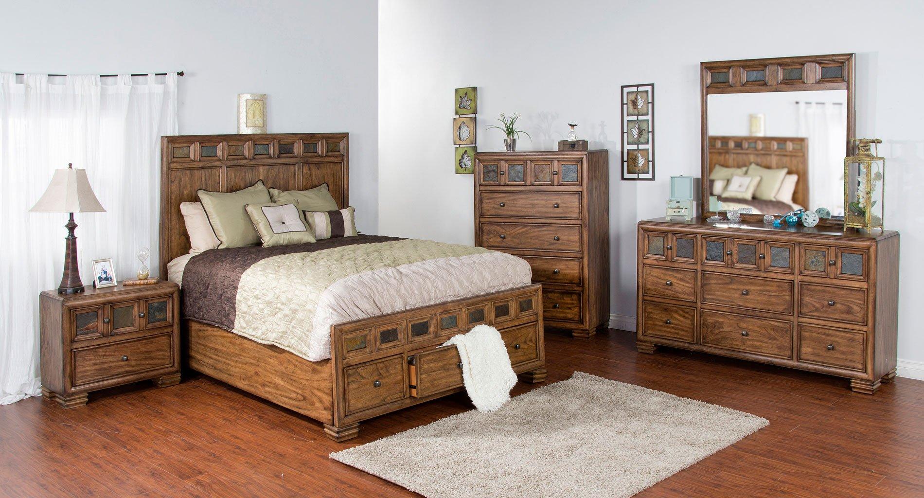 Coventry storage bedroom set sunny designs furniture cart for Sunny designs bedroom furniture