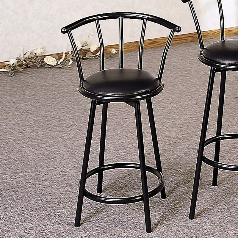 Dixie Swivel Counter Height Stool Set Of 2 Coaster