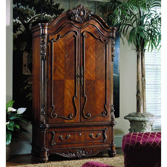 Edwardian Armoire Pulaski Furniture 1 Reviews Furniture Cart