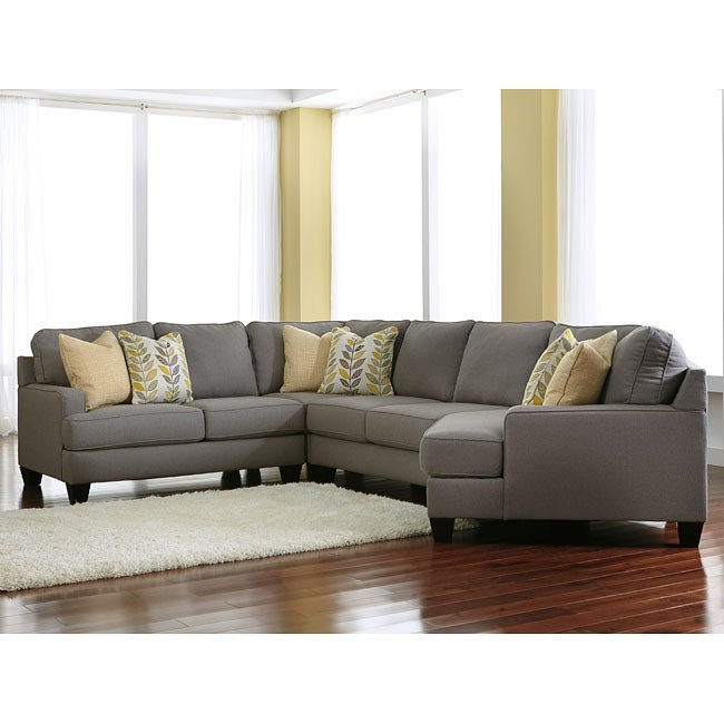 Chamberly Alloy Modular Sectional w/ Cuddler