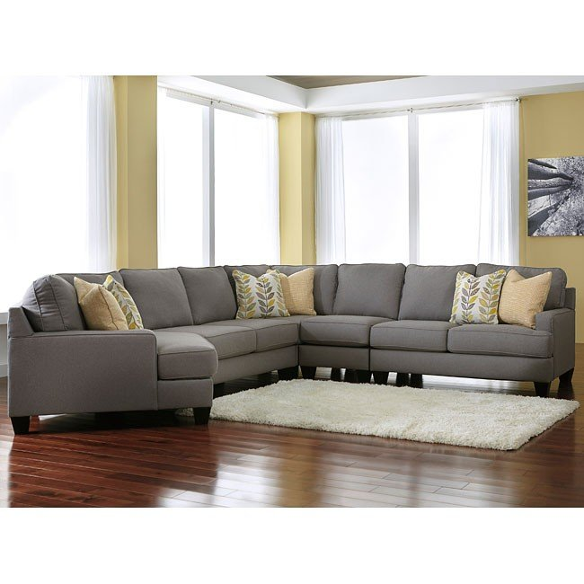 Modular Sectional Sofa Ashley: Chamberly Alloy Modular Sectional Signature Design, 4