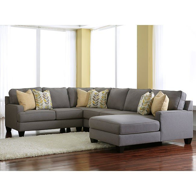 Chamberly Alloy Modular Sectional w/ Chaise