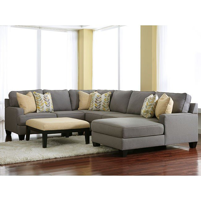Cool Sofas For Sale: Chamberly Alloy Modular Sectional Set W/ Chaise Signature