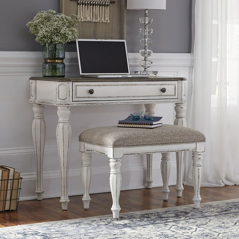 Magnolia Manor Accent Vanity Desk Liberty Furniture