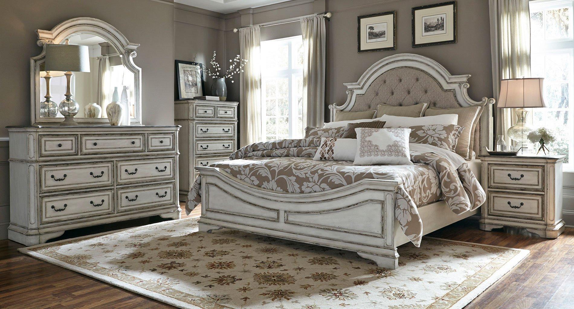 Marvelous Magnolia Manor Panel Bedroom Set