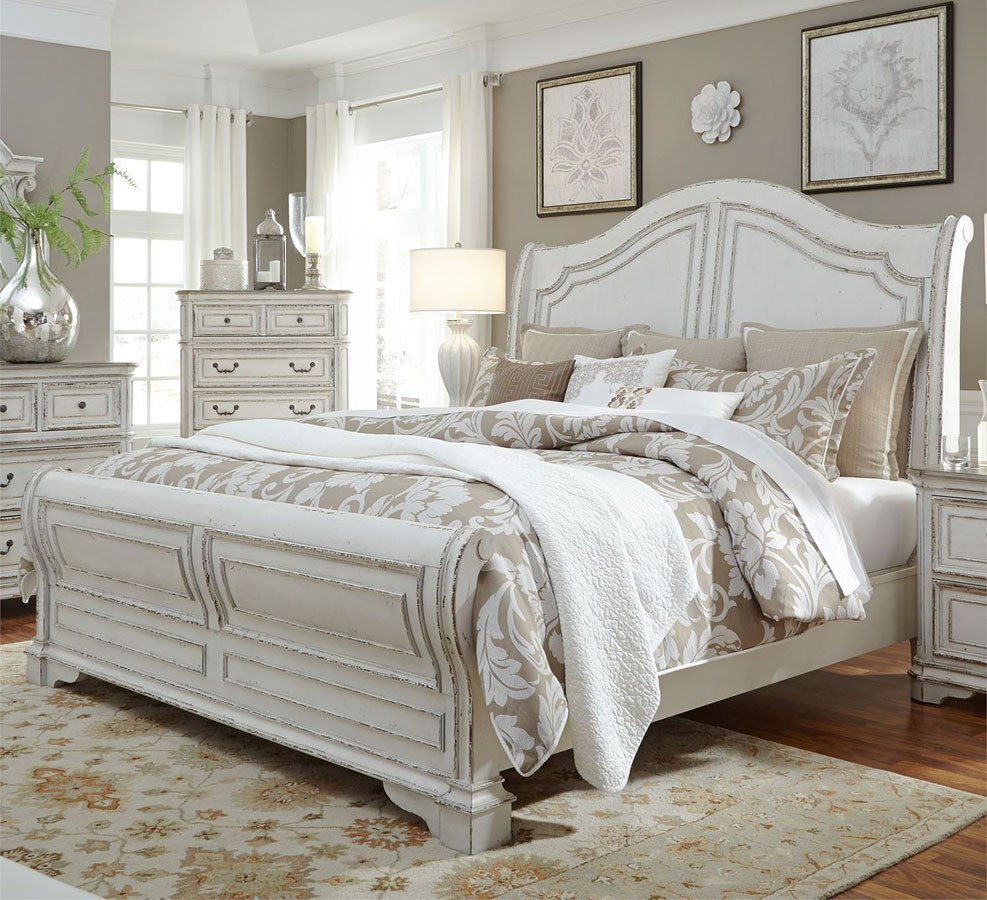 Magnolia Manor Sleigh Bed Liberty Furniture
