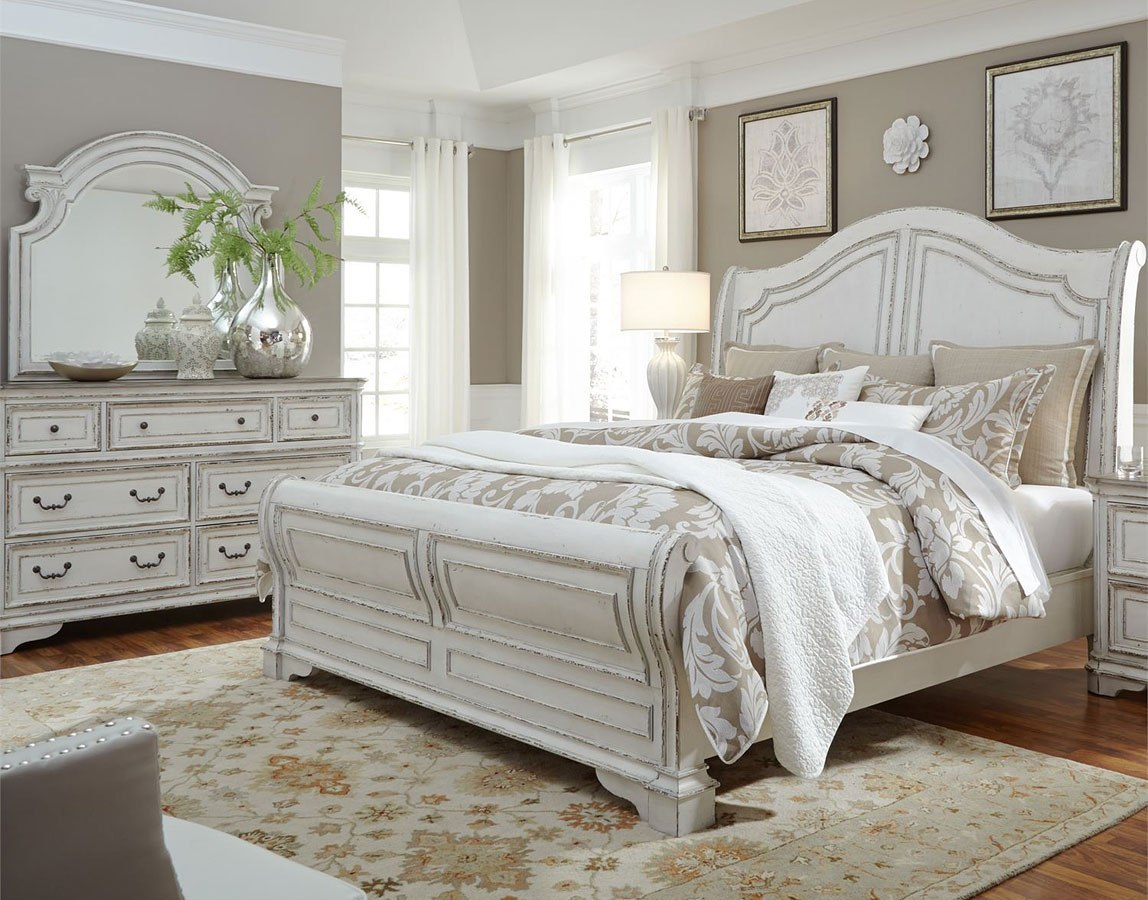 Magnolia Manor Sleigh Bedroom Set