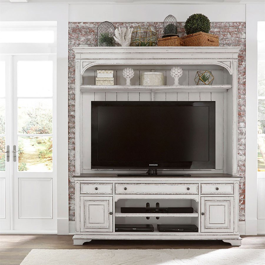 Magnolia Manor Entertainment Center With Piers Liberty Furniture 4 Reviews Furniture Cart