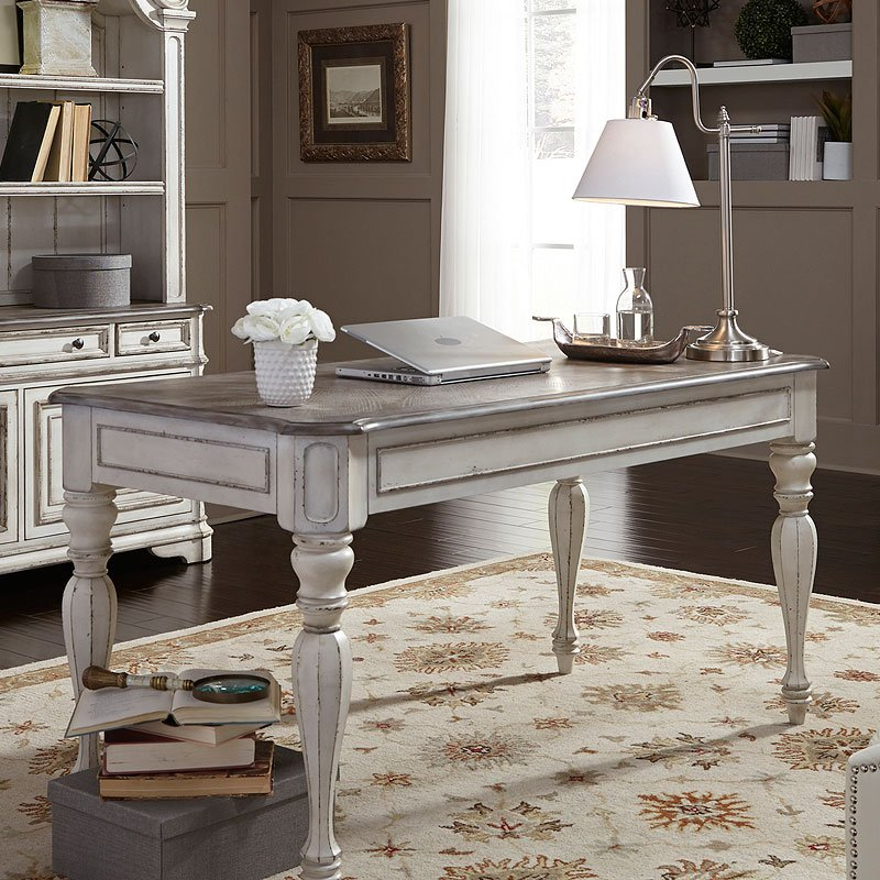 Best Home Office Furniture Brands: Magnolia Manor Writing Desk Liberty Furniture, 1 Reviews