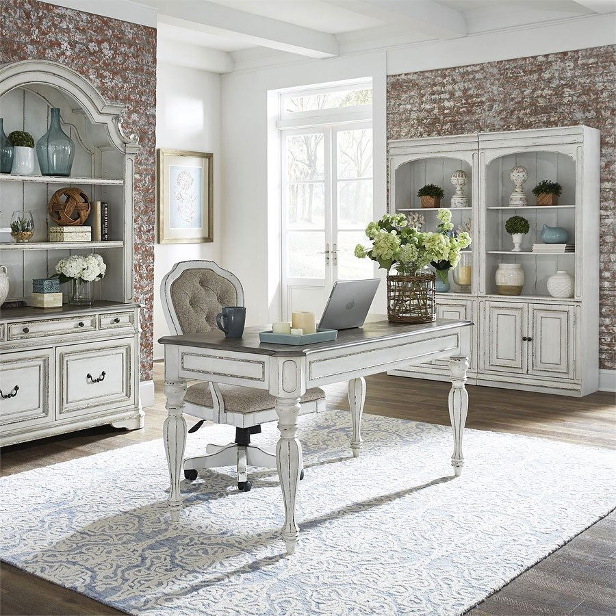 Magnolia Manor Home Office Set Liberty Furniture, 1 Reviews | Furniture Cart
