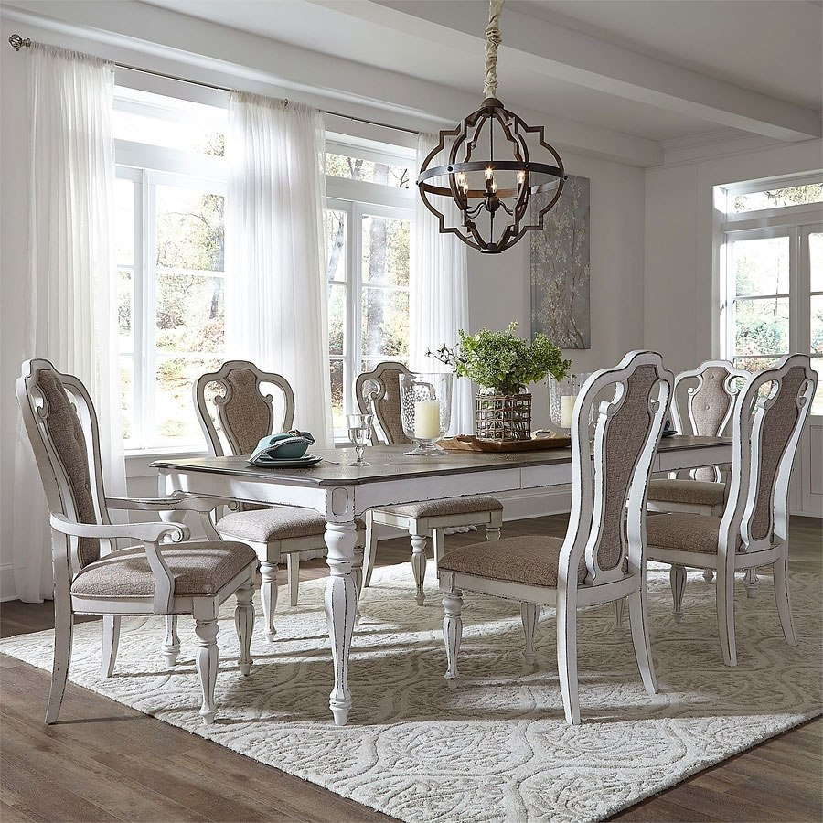 Magnolia Manor Dining Room Set W 108 Inch Table