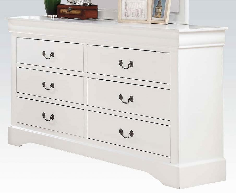 Louis Philippe Iii Dresser White Acme Furniture