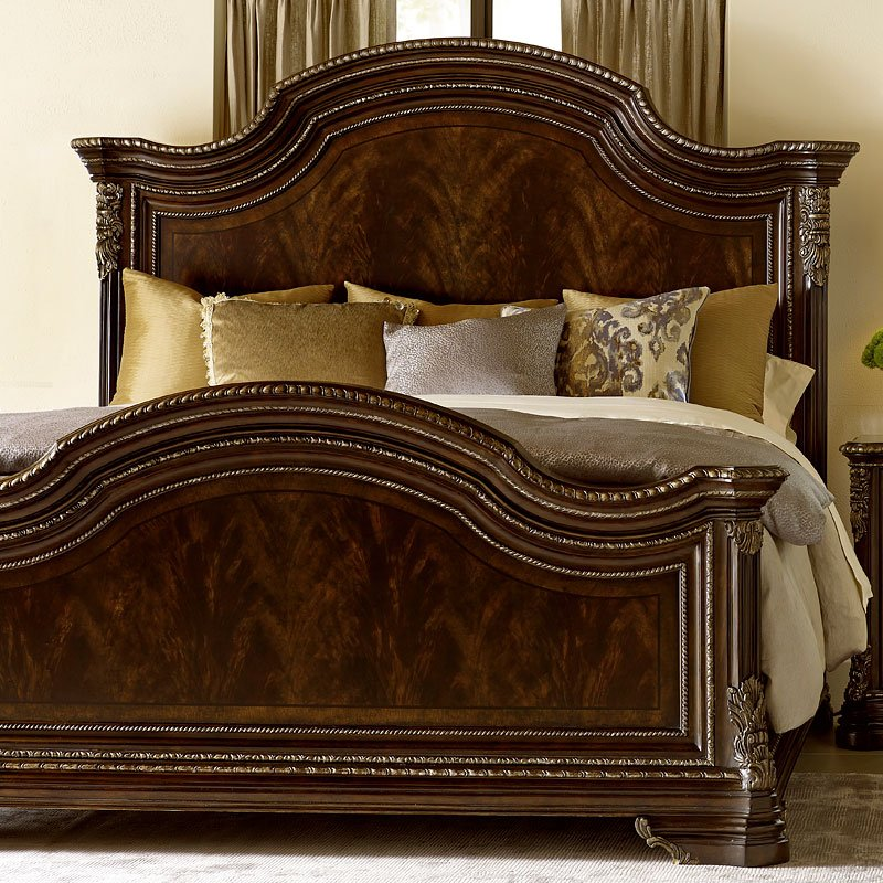 Gables panel bed art furniture furniture cart - Ashley wilkes bedroom collection ...